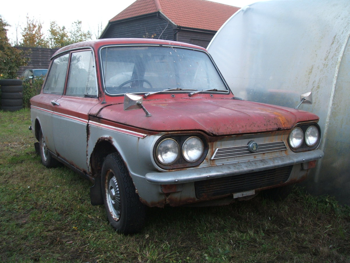 1970 Sunbeam Imp Rescued from garage For Sale (picture 2 of 6)