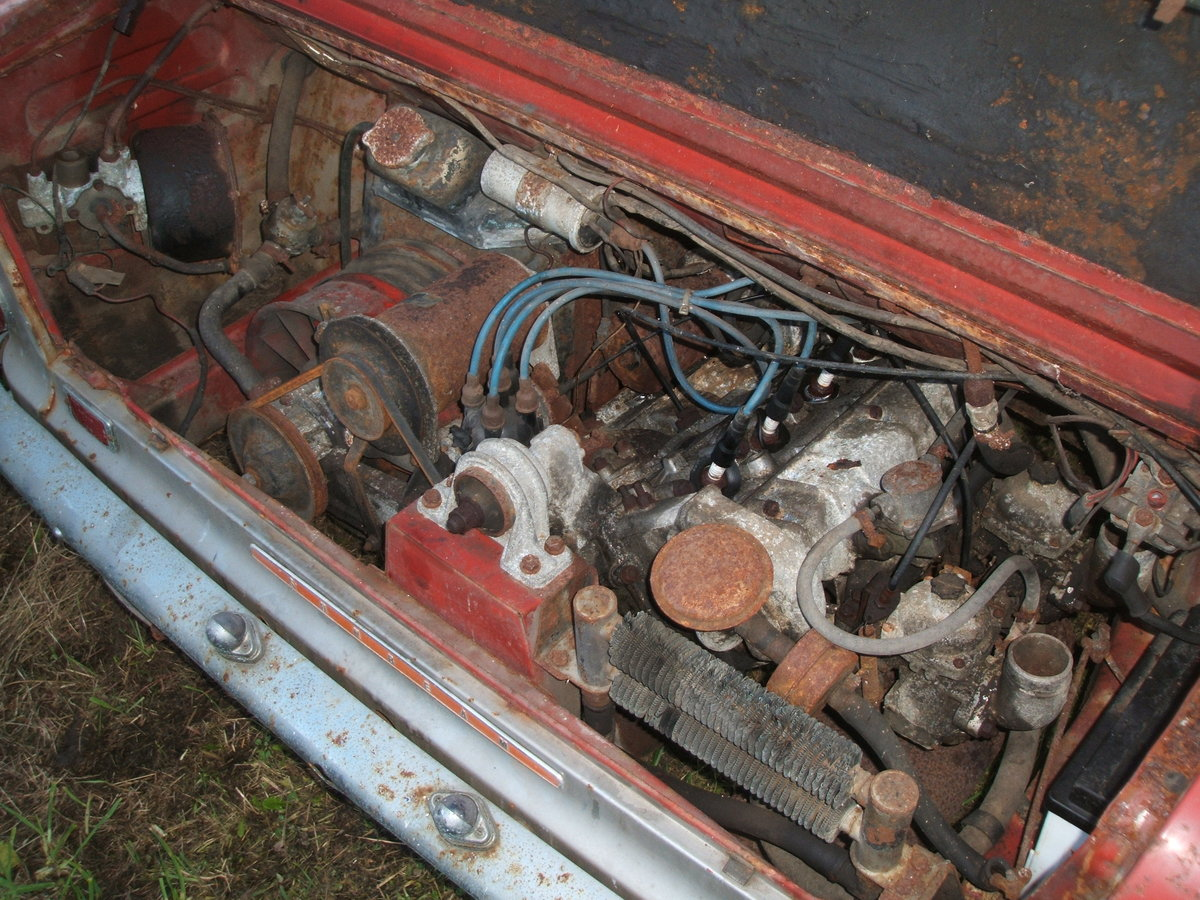 1970 Sunbeam Imp Rescued from garage For Sale (picture 4 of 6)