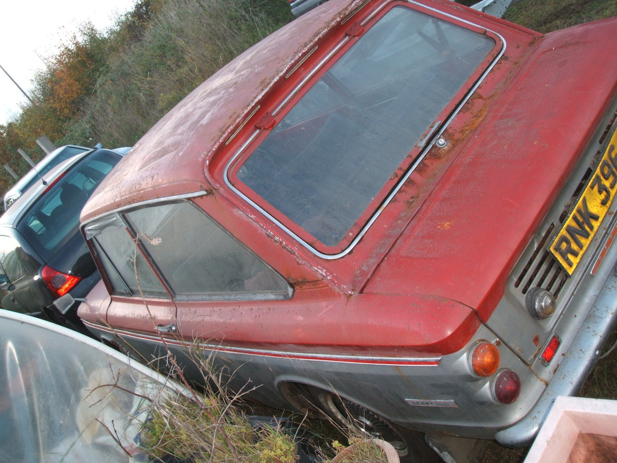 1970 Sunbeam Imp Rescued from garage For Sale (picture 6 of 6)
