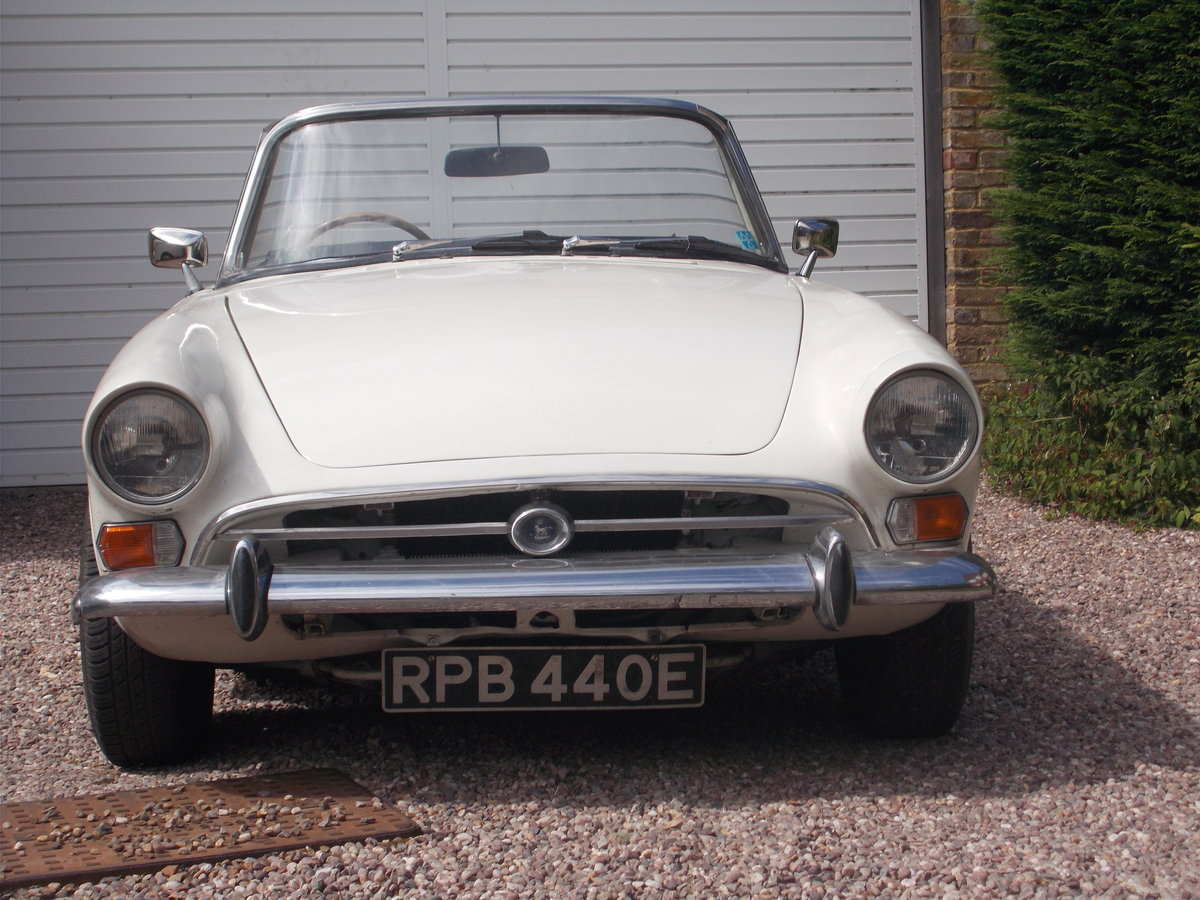 1967 Sunbeam Alpine MKV fully restored. For Sale (picture 1 of 6)