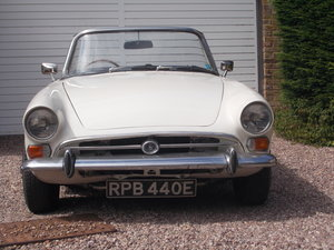 1967 Sunbeam Alpine MKV fully restored. For Sale