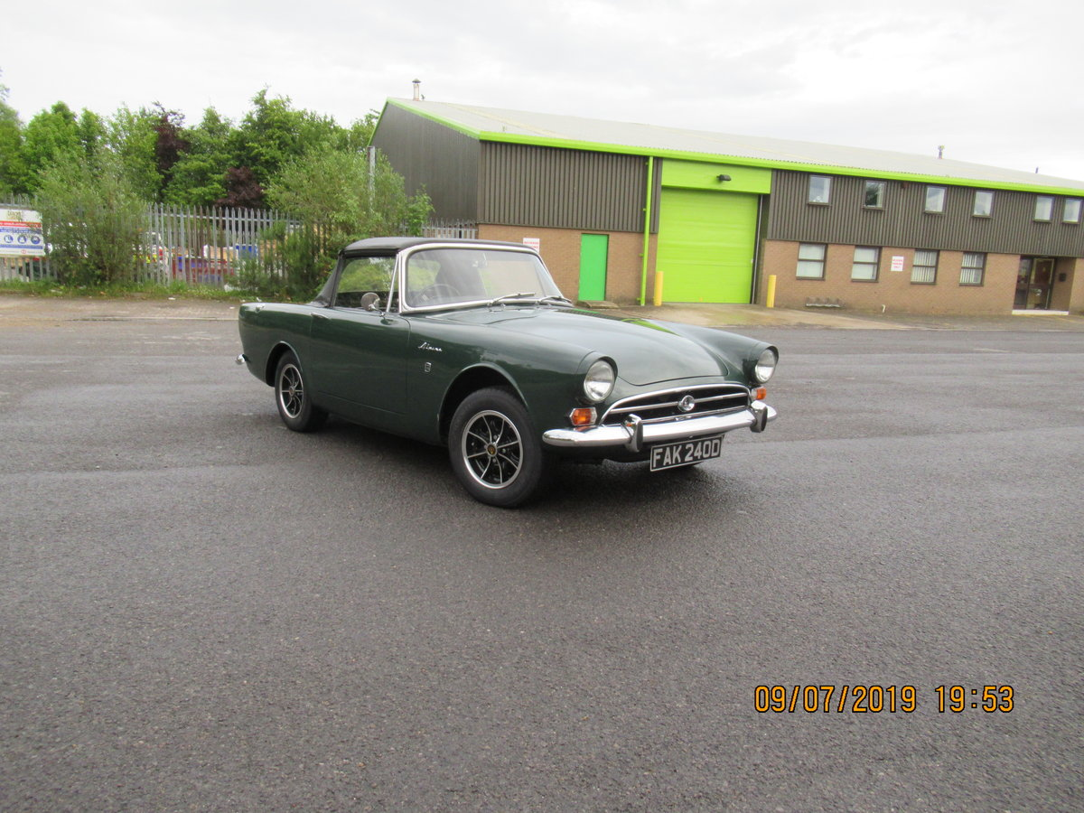 1966 sunbeam alpine  For Sale (picture 1 of 6)