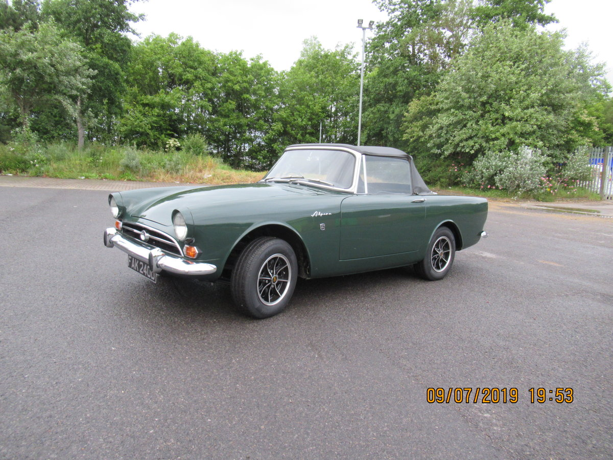 1966 sunbeam alpine  For Sale (picture 3 of 6)