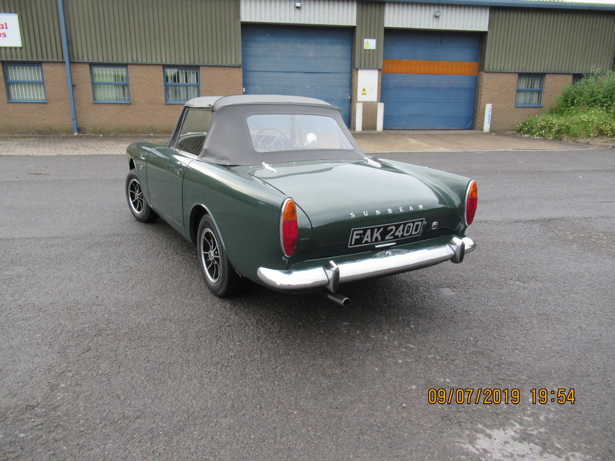 1966 sunbeam alpine  For Sale (picture 4 of 6)