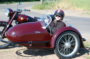 1951 Sunbeam motorcycle sidecar