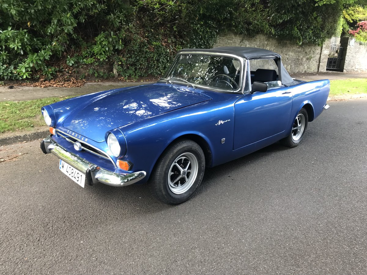 1964 SUNBEAM ALPINE CONVERTIBLE LHD For Sale (picture 1 of 6)