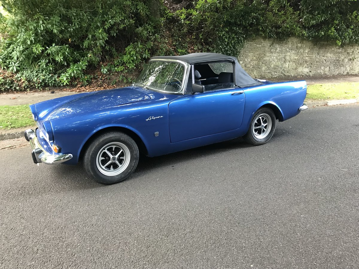 1964 SUNBEAM ALPINE CONVERTIBLE LHD For Sale (picture 3 of 6)