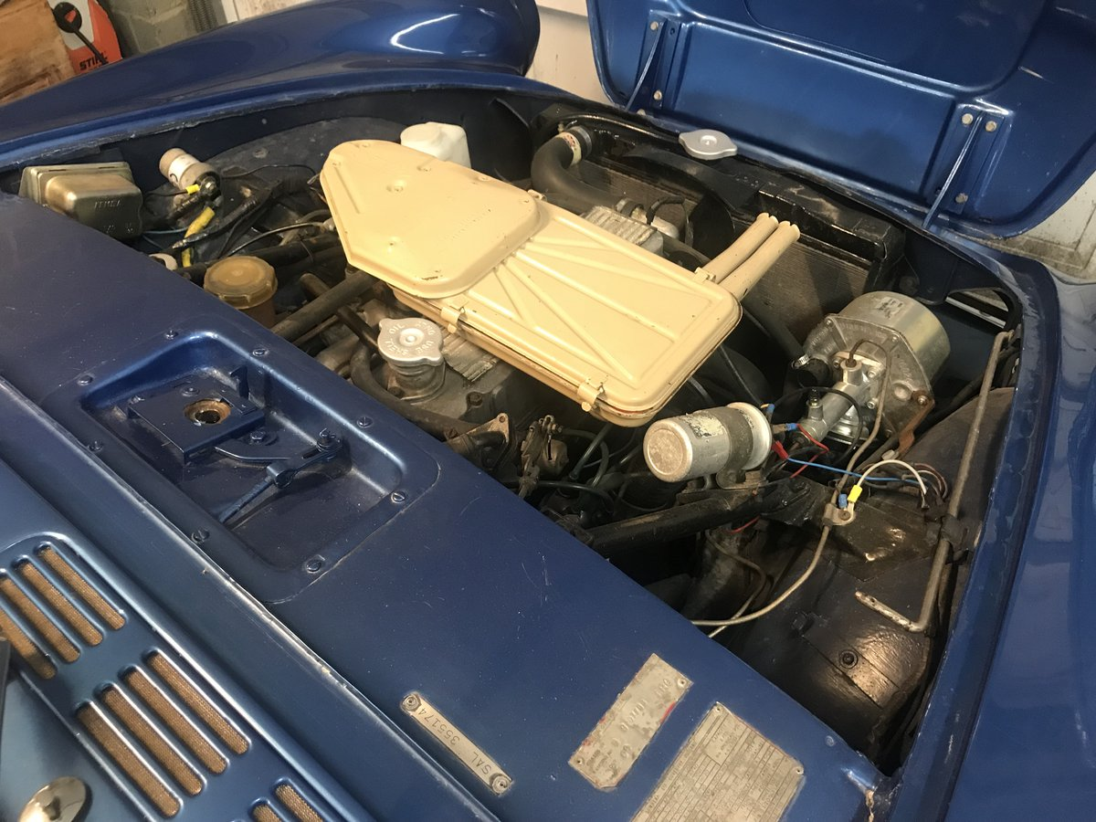 1964 SUNBEAM ALPINE CONVERTIBLE LHD For Sale (picture 5 of 6)