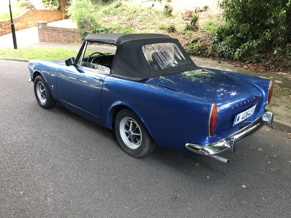 1964 SUNBEAM ALPINE CONVERTIBLE LHD For Sale (picture 2 of 6)