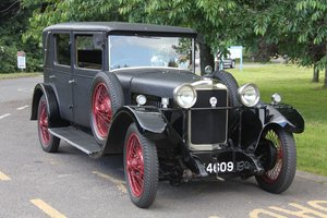 1928 Sunbeam 16hp Weymann Saloon - lovely For Sale