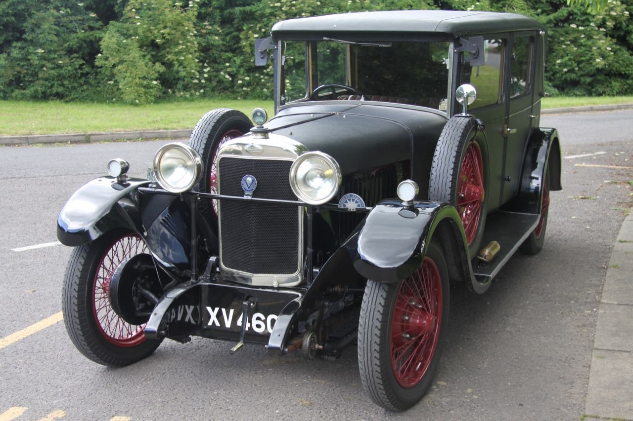 1928 Sunbeam 16hp Weymann Saloon - lovely For Sale (picture 2 of 6)