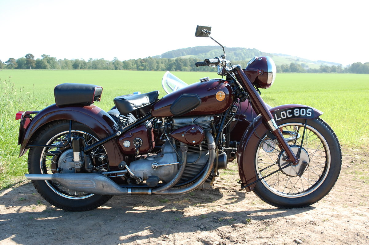 1951 Sunbeam motorcycle sidecar SOLD (picture 3 of 6)