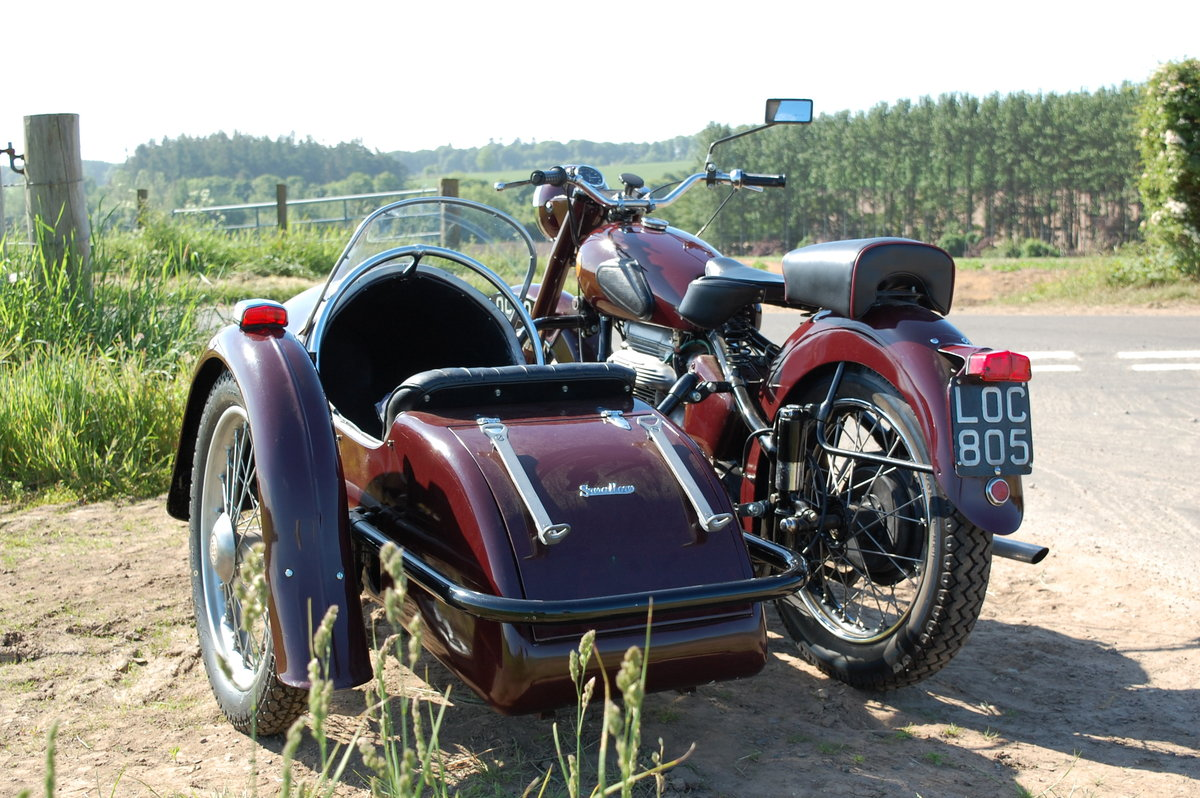 1951 Sunbeam motorcycle sidecar SOLD (picture 4 of 6)
