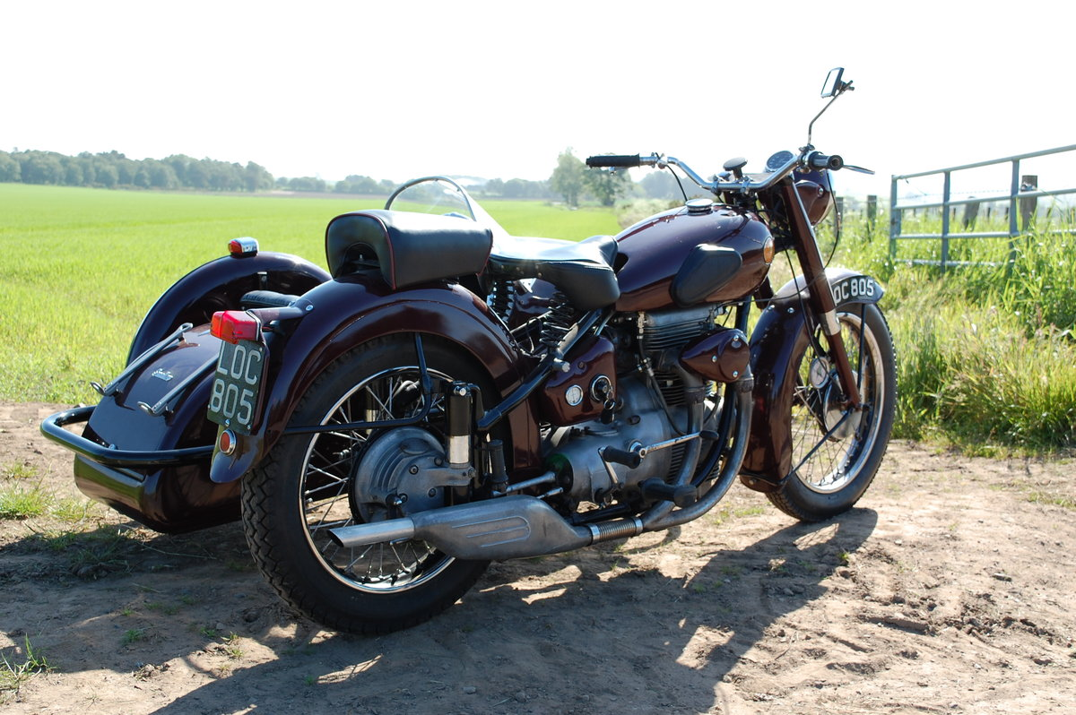 1951 Sunbeam motorcycle sidecar SOLD (picture 5 of 6)