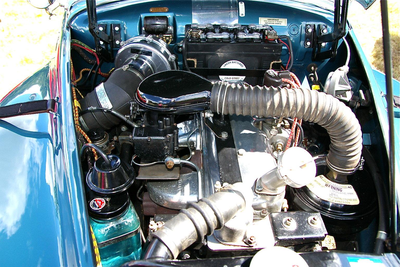 1953 Sunbeam Alpine MK1 Roadster SOLD (picture 5 of 6)