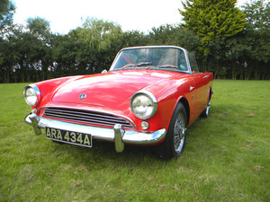 1963 SUNBEAM ALPINE SERIES III Gran Turismo Roadster SOLD