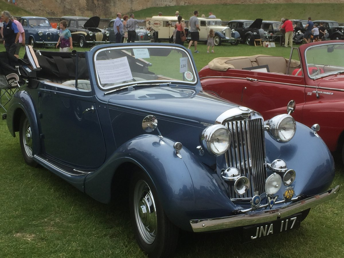 1947 Sunbeam Talbot supreme 2 litre Drophead coupe For Sale (picture 1 of 6)