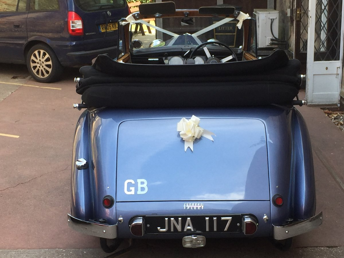 1947 Sunbeam Talbot supreme 2 litre Drophead coupe For Sale (picture 4 of 6)