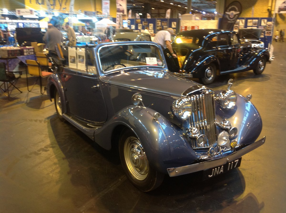 1947 Sunbeam Talbot supreme 2 litre Drophead coupe For Sale (picture 6 of 6)
