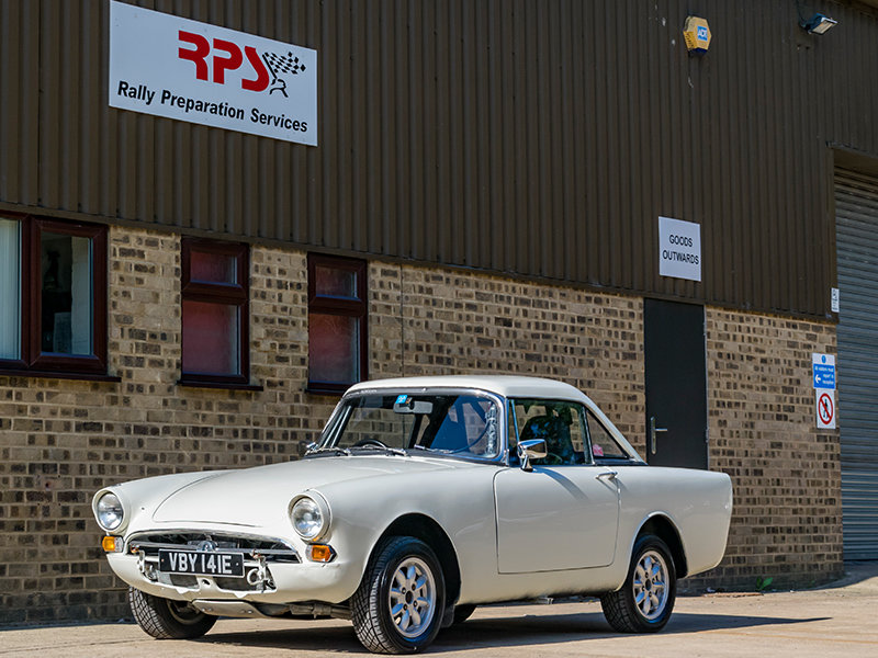 1967 Sunbeam Alpine MK V 1725 Classic Rally Car For Sale (picture 1 of 6)