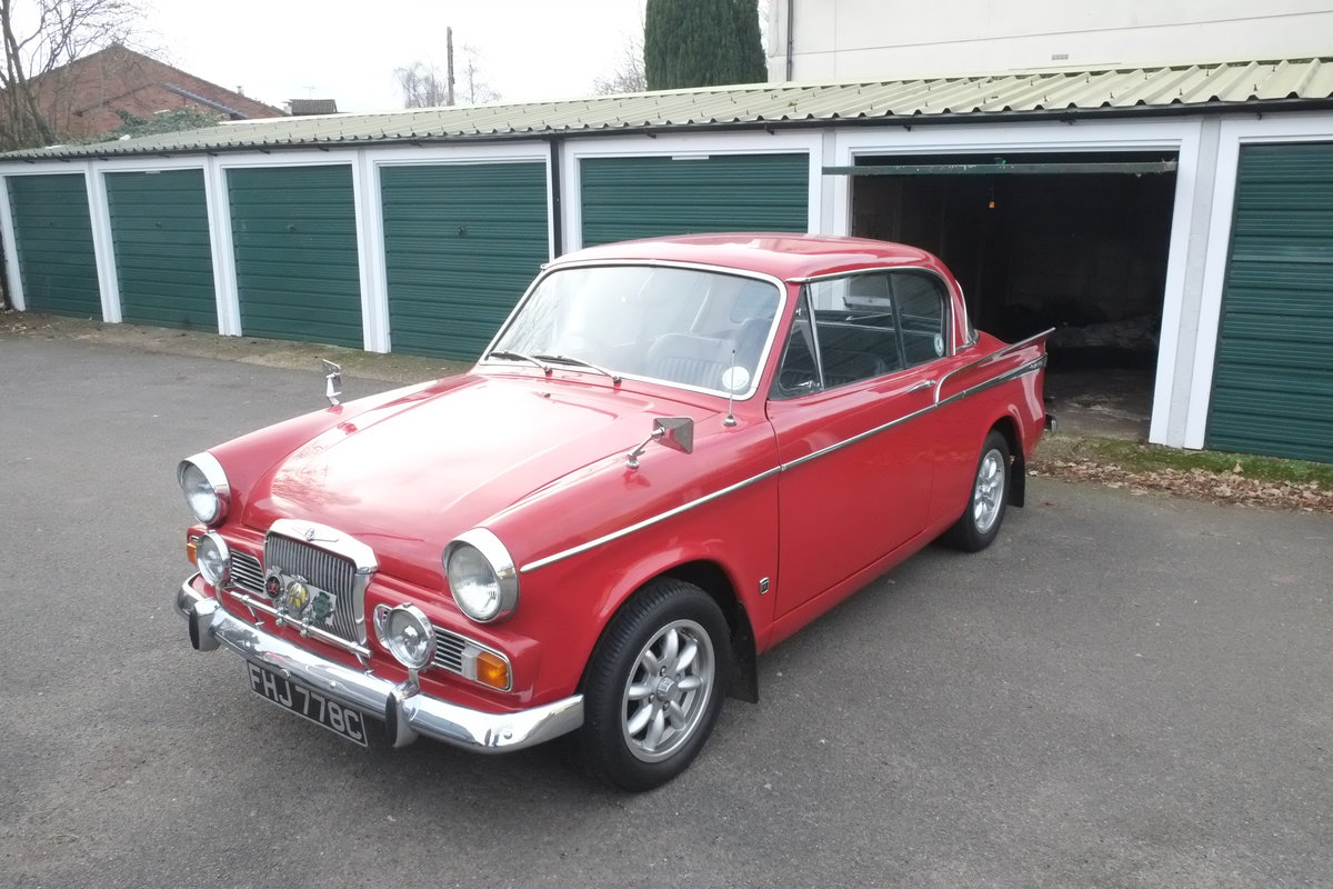 1965 Sunbeam Rapier Mk IV SOLD (picture 1 of 6)