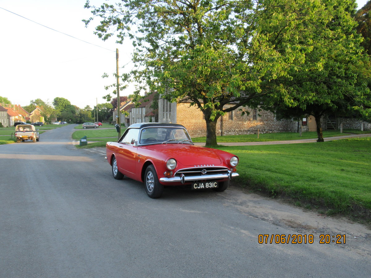 Sunbeam Alpine For Sale For Sale Car And Classic