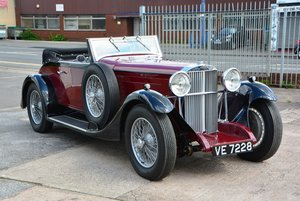 1932 Sunbeam 20 Drophead Coupe For Sale by Auction