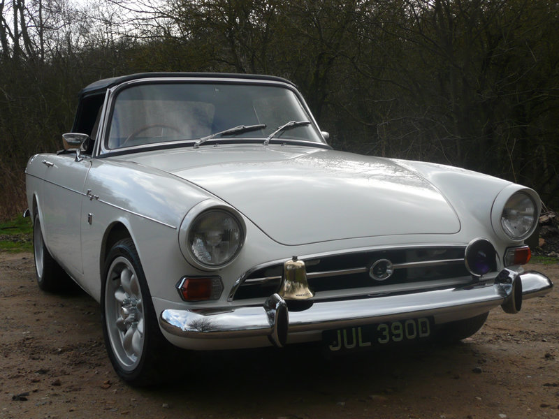 1966 Sunbeam Tiger MK1A - Met Police For Sale (picture 3 of 6)