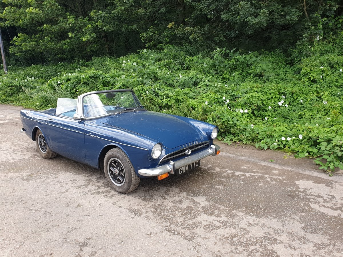1965 Sunbeam Tiger MK 1  For Sale (picture 1 of 6)