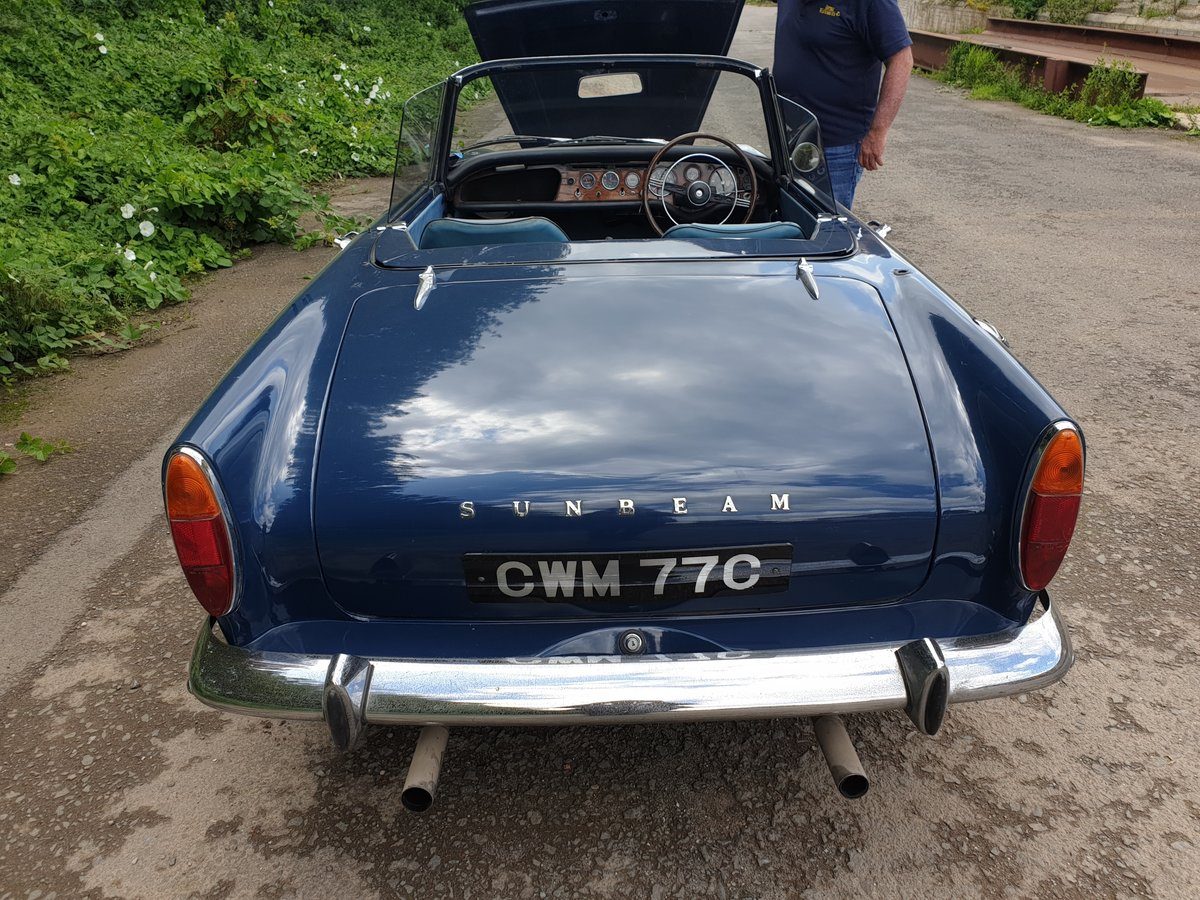 1965 Sunbeam Tiger MK 1  For Sale (picture 3 of 6)
