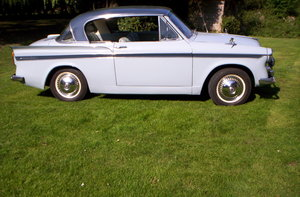 1961 Sunbeam Rapier 62000 genuine miles from new For Sale