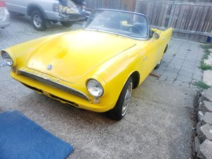 1963 Sunbeam Alpine - Lot 628 For Sale by Auction