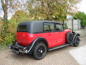 1933 Sunbeam Twenty Five limousine For Sale
