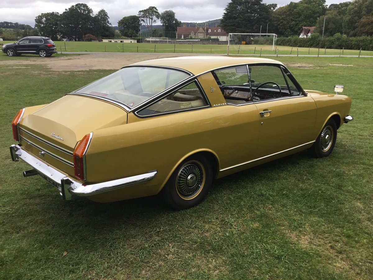 1971 Sunbeam Alpine Fastback For Sale by Auction (picture 4 of 6)