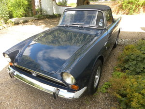 1966 SUNBEAM ALPINE SERIES V.  35000 MILES ONLY FROM NEW