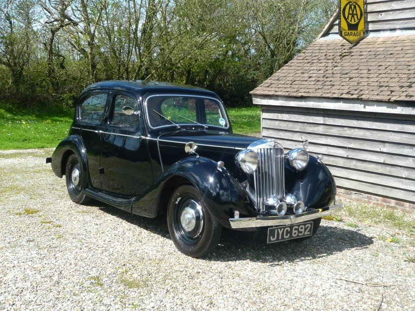 1948 Sunbeam Talbot Ten Sports Saloon. For Sale (picture 1 of 6)