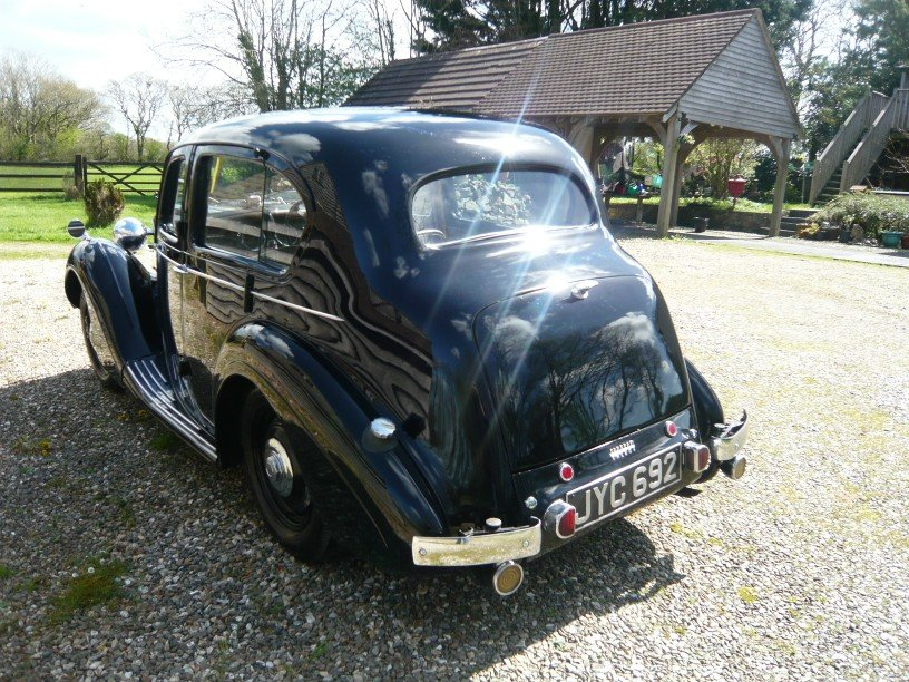 1948 Sunbeam Talbot Ten Sports Saloon. For Sale (picture 3 of 6)