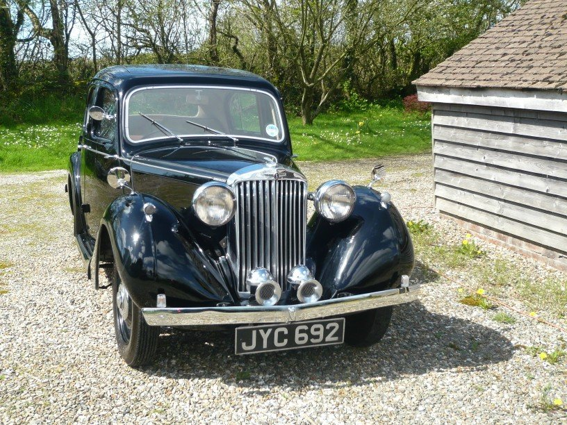 1948 Sunbeam Talbot Ten Sports Saloon. For Sale (picture 5 of 6)