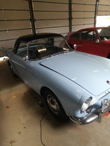 1960 Sunbeam Alpine Series 1 Manual RHD