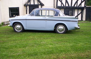 1961 Sunbeam Rapier 62000 genuine miles from new SOLD