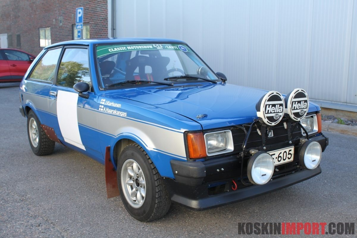 1981 Talbot Sunbeam 424 ti 1600 group 2 (period I) SOLD (picture 1 of 5)