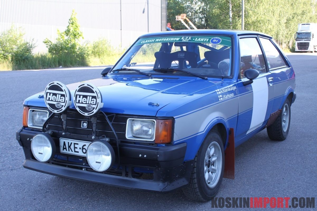 1981 Talbot Sunbeam 424 ti 1600 group 2 (period I) SOLD (picture 2 of 5)