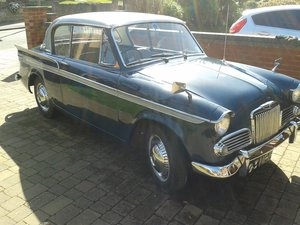 1962 Sunbeam Rapier IIIA saloon SOLD