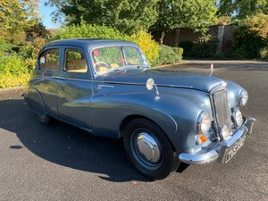 **NOVEMBER AUCTION** 1952 Sunbeam Talbot For Sale by Auction