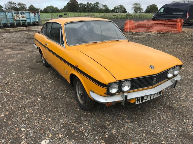 1972 Sunbeam Rapier H120 holbay  1 previous owner For Sale (picture 1 of 6)