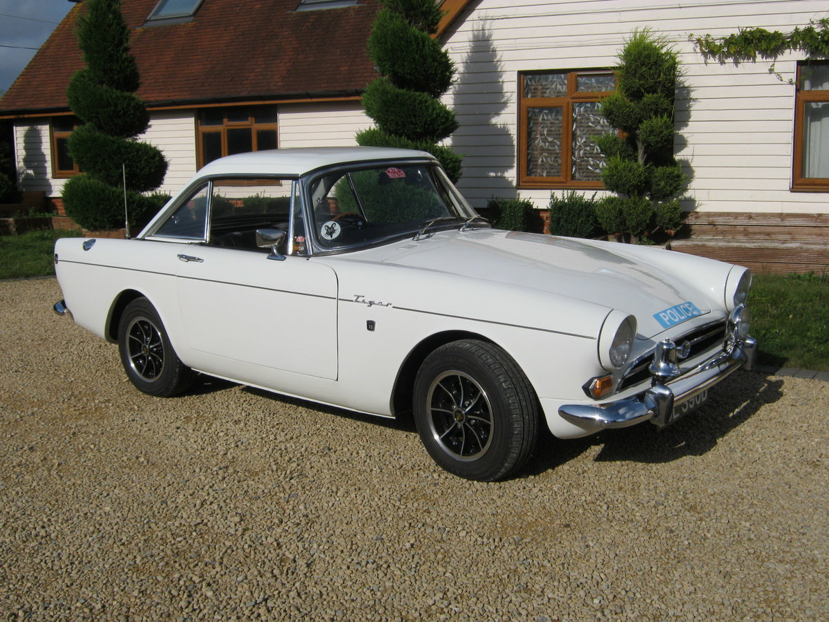 1966 SUNBEAM TIGER MK1A. EX MET. POLICE FAST PURSUIT CAR.  For Sale (picture 1 of 6)