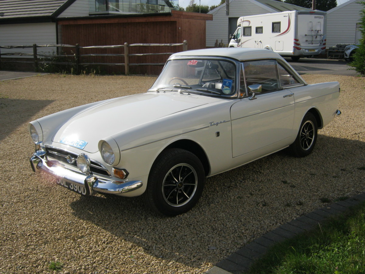 1966 SUNBEAM TIGER MK1A. EX MET. POLICE FAST PURSUIT CAR.  For Sale (picture 2 of 6)