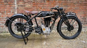 1927 Sunbeam Model 9, 493 cc.  For Sale by Auction