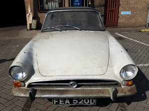 1966  Sunbeam Alpine Series V at ACA 2nd November