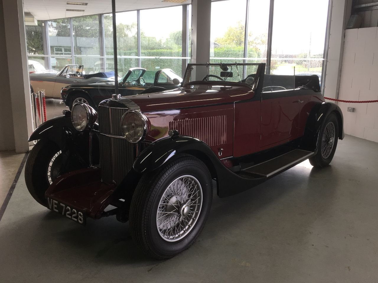 1932 Sunbeam 20 drophead coupe For Sale (picture 1 of 4)